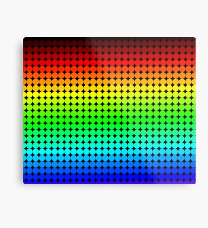 Rainbow Polka dots 005 Metal Print