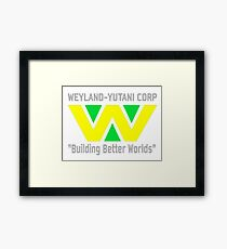 Weyland-Yutani Corporation Framed Print