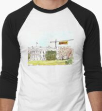 Resist the Trump White House Men's Baseball ¾ T-Shirt