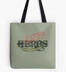 Happy HERBS (Cheech & Chong) Tote Bag