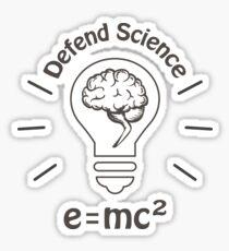 Defend Science Sticker
