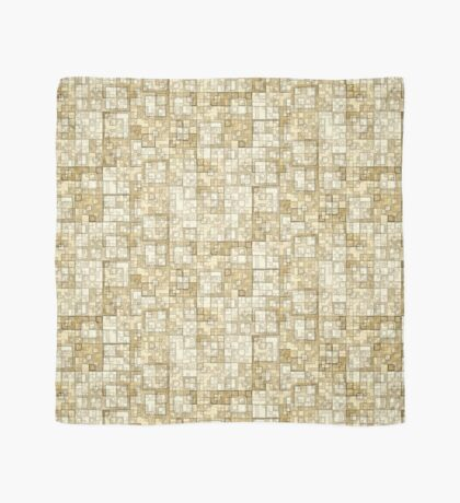 Squares of Taupe by Julie Everhart Scarf