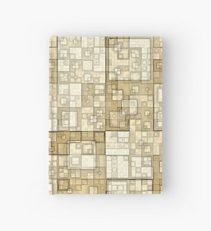 Squares of Taupe by Julie Everhart Hardcover Journal