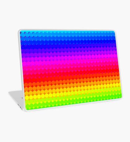 Rainbow Polka dots 007 Laptop Skin