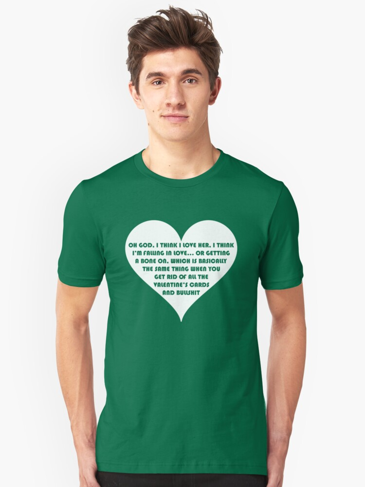 Peep Show Love Or A Bone On Unisex T Shirt By Ponchtheowl