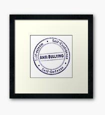 Anti-Bullying  Framed Print
