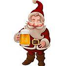 Santa Claus Beer by jordygraph