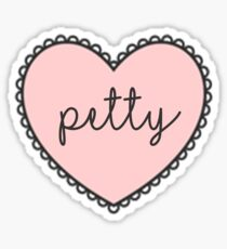 Petty Sticker