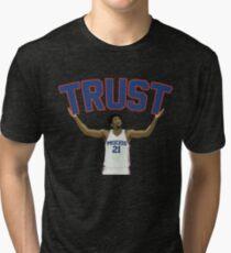 Trust the Process  Tri-blend T-Shirt