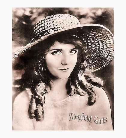 Ziegfeld Girls ... Olive Thomas Photographic Print