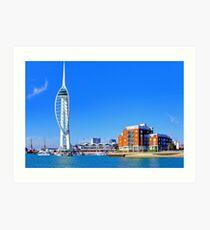 The Spinnaker Tower Portsmouth Art Print