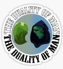 Existential Evil Kermit Sticker