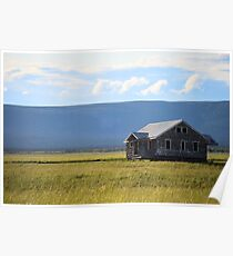 House in Field Poster