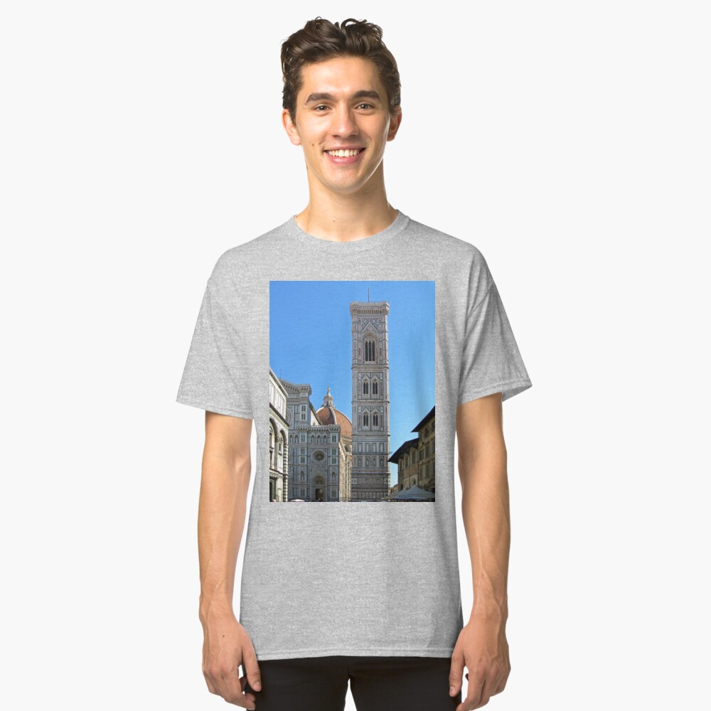 Campanile Tower and Duomo, Florence Classic T-Shirt Front
