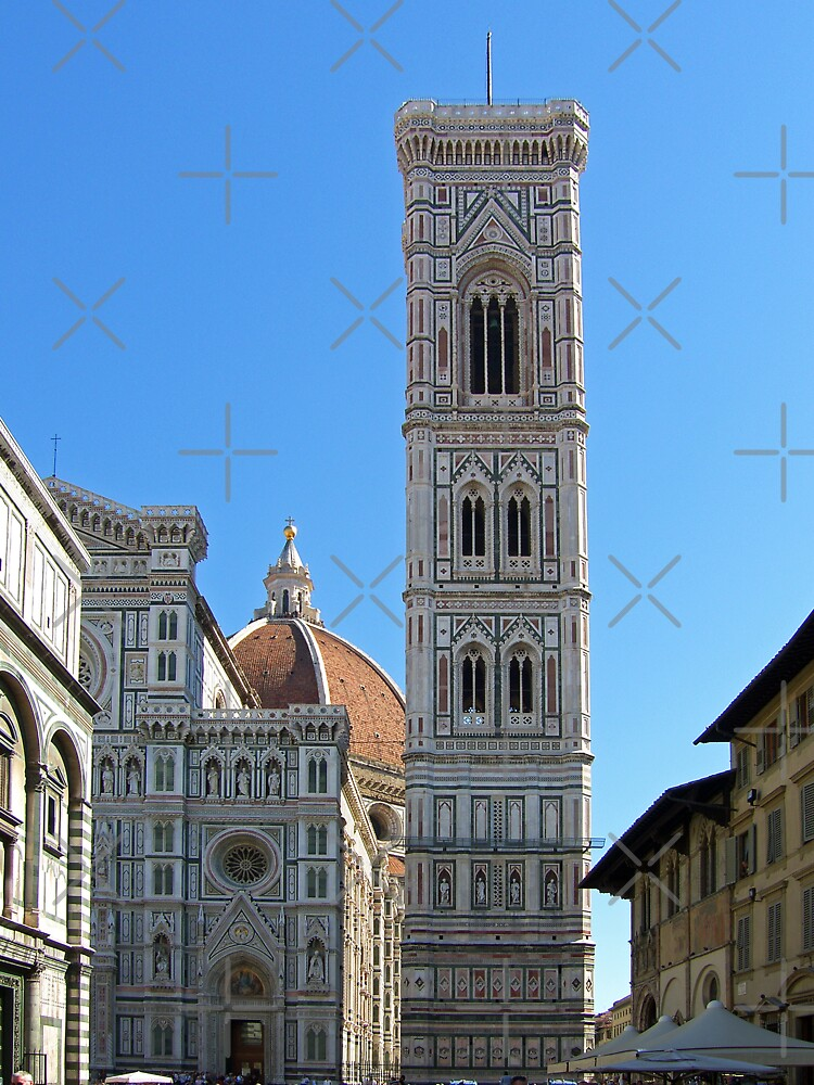 Campanile Tower and Duomo, Florence by tomg