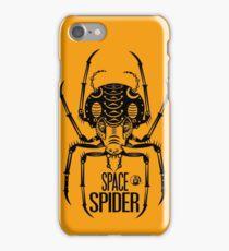Space Spider! (black) iPhone Case/Skin