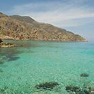 Ombrosgialos Cove - Crete by dunawori