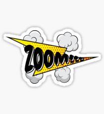 Zoom! Sticker