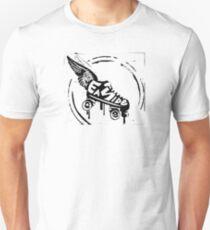 Slam! East Side Roller Girls - Black Unisex T-Shirt
