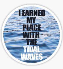 Tidal Waves Sticker