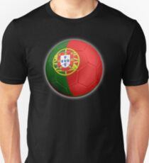 Portugal - Portuguese Flag - Football or Soccer 2 T-Shirt