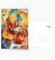 Flame On Postcards