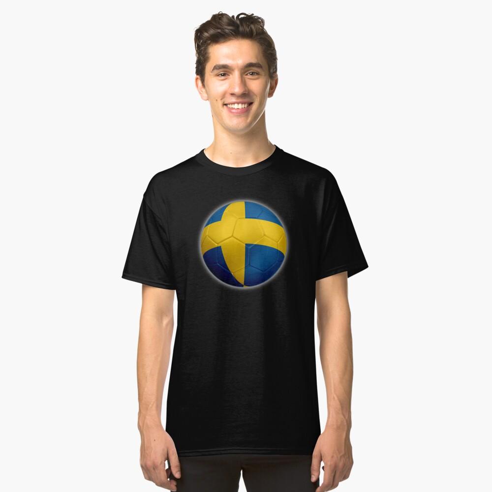 Schweden - Schwedische Flagge - Fußball oder Fußball 2 Classic T-Shirt