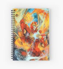 Flame On Spiral Notebook