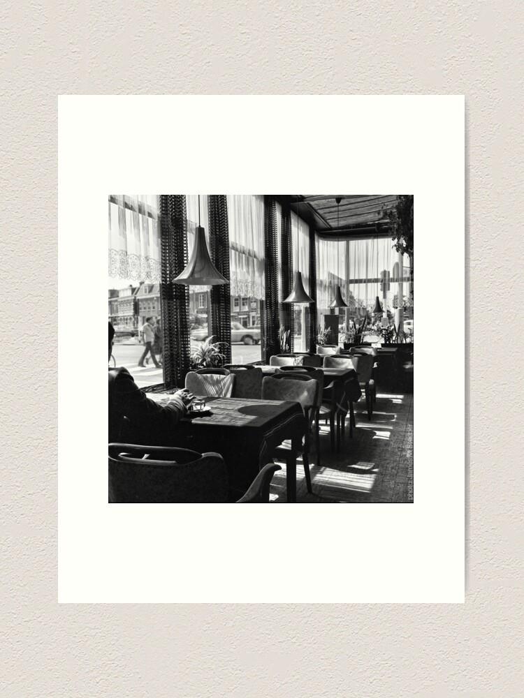 Alternate view of Haarlem Café Art Print