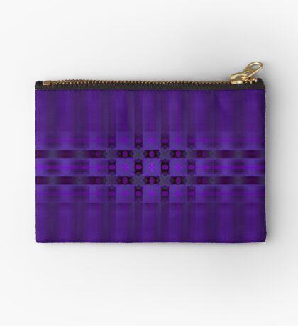 Streaks of Purple by Julie Everhart Zipper Pouch