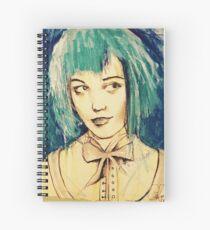 Daft Blue  Spiral Notebook