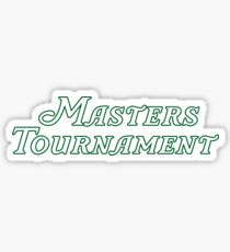 The Masters Tournament Golf Sticker