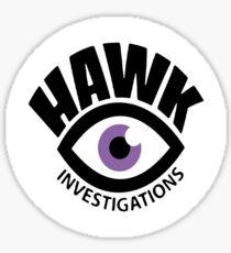 Hawk Investigations - Kate Bishop Sticker