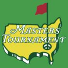 The Masters Golf Map Logo by thhe