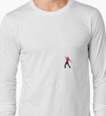 Tiger Woods Fist Pump Long Sleeve T-Shirt