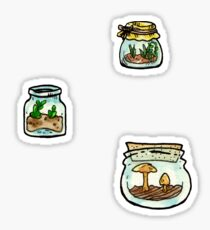 tiny terrariums sticker sheet (3) Sticker