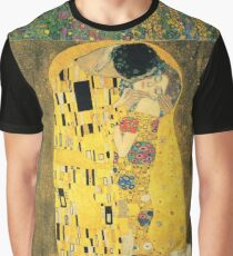 Gustav Klimt- The Kiss Graphic T-Shirt