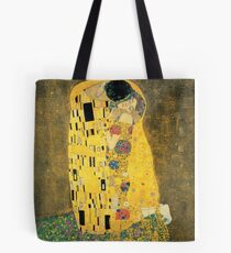 Gustav Klimt- The Kiss Tote Bag