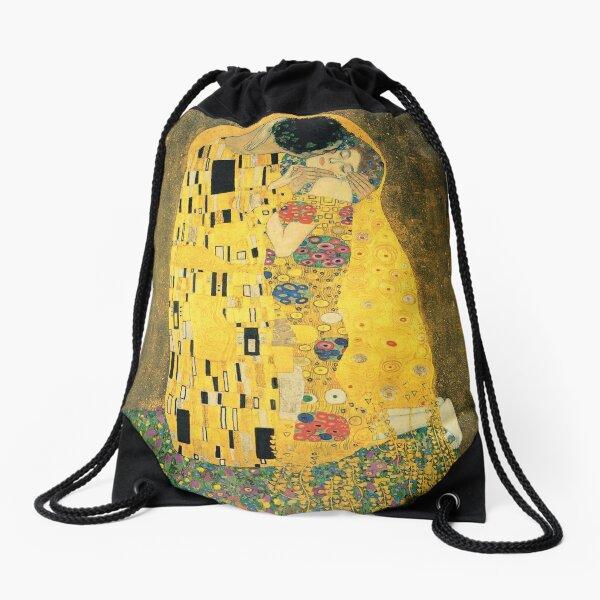 Gustav Klimt- The Kiss Drawstring Bag