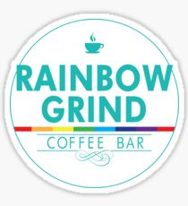 Rainbow Grind -Alt w/Flourish  Sticker