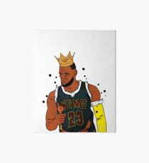 LeBron James Art Board