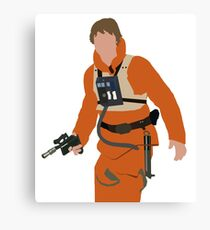 Luke Skywalker Canvas Print