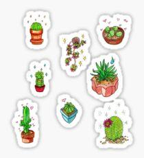 kawaii cacti  Sticker