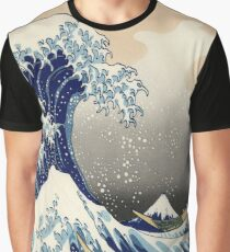 The Great Wave off Kanagawa Graphic T-Shirt
