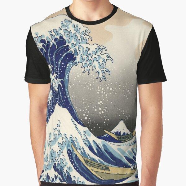 The Great Wave off Kanagawa Graphic T-Shirt