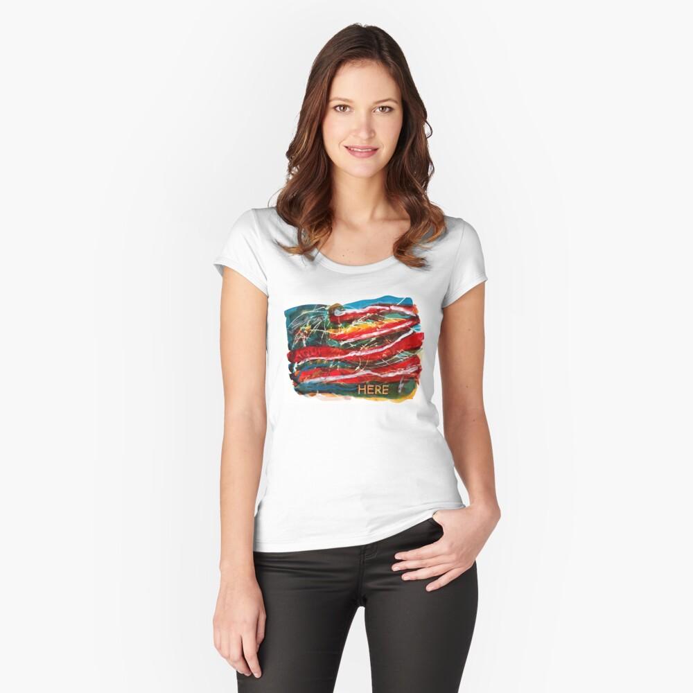 Historia Americana II: Aqui, Siempre Aqui Camiseta entallada de cuello ancho
