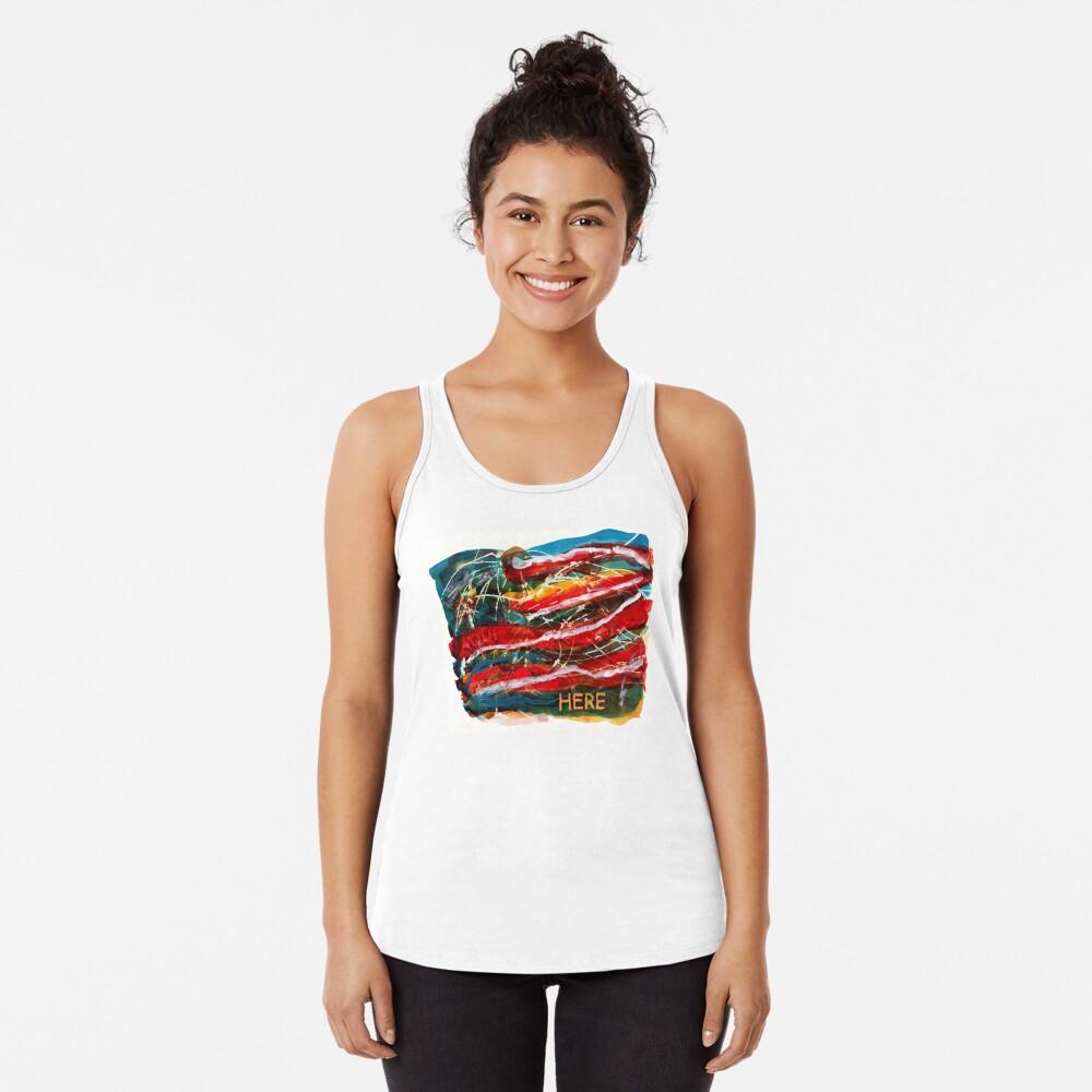 Historia Americana II: Aqui, Siempre Aqui Camiseta con espalda nadadora
