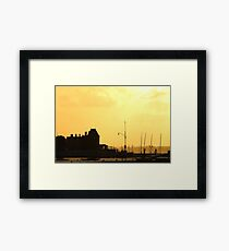 Cowes Sunset Framed Print