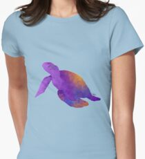 Tantalizing Turtle Womens Fitted T-Shirt
