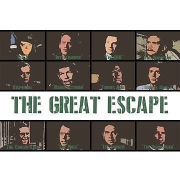 The Great Escape (1963) by rhizatay